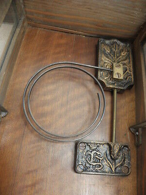 antique Clock Vienna Regulator German Wall Clock Chime horloge circa old d.r p 10