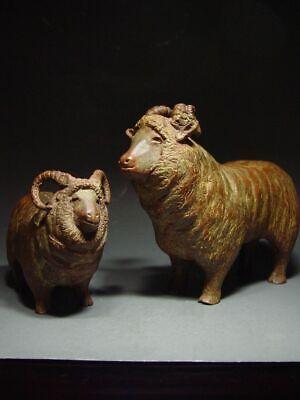 BRONZE SHETLAND SHEEP OF SCOTLAND, SCANDINAVIAN SCULPTURAL ART. 19/20th C. 5