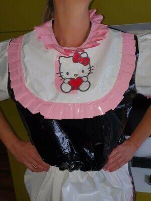 Adult Baby Body Spreizbody Windelbody DIAPER SPREIZHOSE PVC LACK HALLO KITTY XL 7