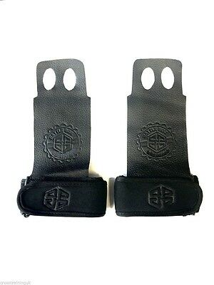 BattleBox UK Extra Thin Kangaroo Leather Gymnastic Grips CrossFit WOD