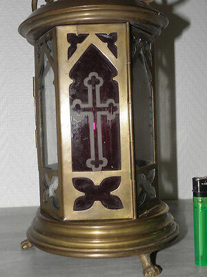Antique lamp Lantern Chandelier OLD CHURCH GREEK CATHOLIC CATHEDRAL CANDLE Light 5