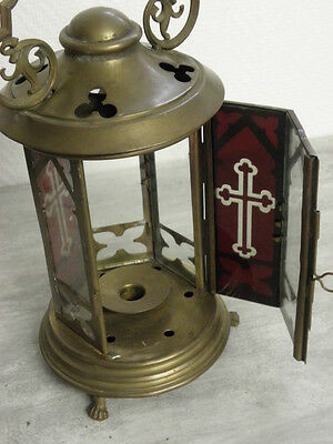 Antique lamp Lantern Chandelier OLD CHURCH GREEK CATHOLIC CATHEDRAL CANDLE Light 2
