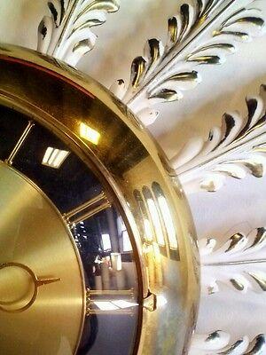 Vintage Toleware Starburst Sunburst Atomic Sputnik Clock Danish Modern Eames Mid 3