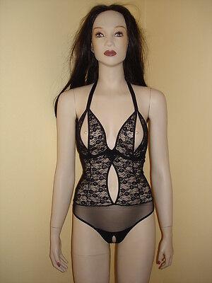 Sexy Stringbody String Body ouvert schwarz b.p.c. lingerie NEU! 4 • EUR 12,90