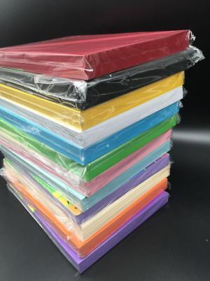 10 X 180gsm A4 Coloured Card Cardboard Craft Paper Making Cardstock Premium 2