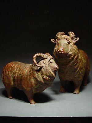 BRONZE SHETLAND SHEEP OF SCOTLAND, SCANDINAVIAN SCULPTURAL ART. 19/20th C. 3