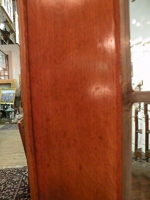 Pair Of Beveled Leaded Glass French Doors In Oak 8