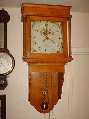 Oak Hooded Wall Clock 10