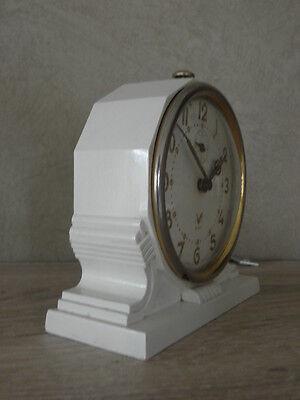 vintage clock alarm blangy retro desk  Art Deco design  Mechanics uhr 3