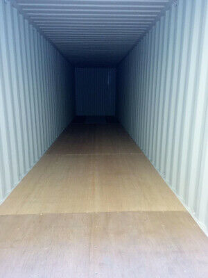40' High Cube New Shipping Container, 40ft HC One Trip Container, Charleston,SC 4