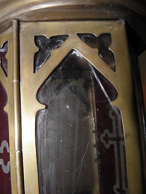 Antique lamp Lantern Chandelier OLD CHURCH GREEK CATHOLIC CATHEDRAL CANDLE Light 6