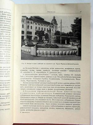 1949 USSR Russia Soviet FLORICULTURE  LANDSCAPE DESIGN Manual Book STALIN EPOCH 10