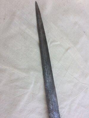 Antique Rare Ottoman Turkish Balkan Court Dagger- Knife Yatagan 12