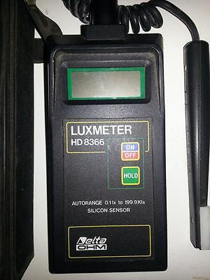Delta Ohm Luxmeter HD8366 (Used from around 1994, Italy) 3