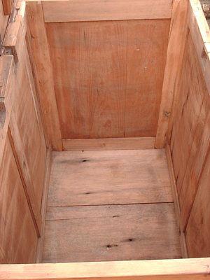 Victorian  Rustic  Pine  Coffer /  Chest / Bedding  Box 7