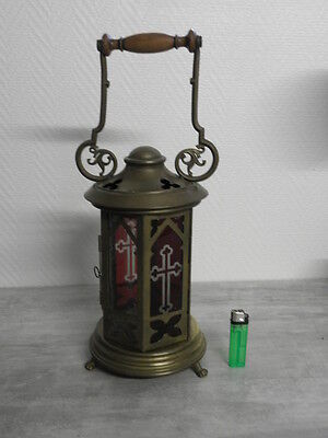 Antique lamp Lantern Chandelier OLD CHURCH GREEK CATHOLIC CATHEDRAL CANDLE Light 3