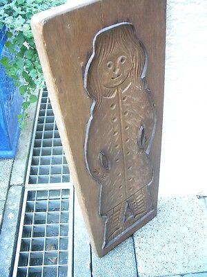 Großes altes Holzmodel, Backmodel, Lebkuchenmodel um 1900 2