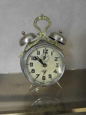antique old alarm clock japy vintage antique Deco century uhr 12