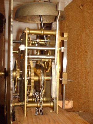 Oak Hooded Wall Clock 7