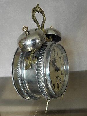antique old alarm clock japy vintage antique Deco century uhr 7