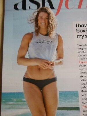 JULY AUGUST 2018 Shape magazine Evangeline Lilly sexy cover + Kerri Walsh