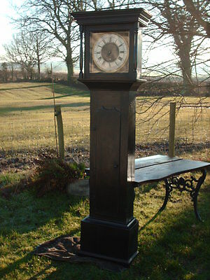Antique Sill Of Wigton  Grandfather / Longcase Clock 4