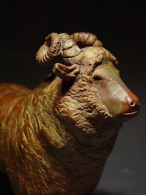 BRONZE SHETLAND SHEEP OF SCOTLAND, SCANDINAVIAN SCULPTURAL ART. 19/20th C. 9