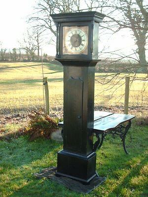 Antique Sill Of Wigton  Grandfather / Longcase Clock 5