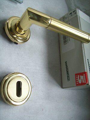 Zimmertür Rosetten Garnitur matt Nickel Prado-R Schössmetall Buche