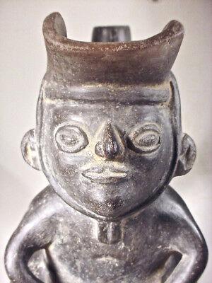 Pre-Columbian Dignitary Vessel Moche V W/Coa 7