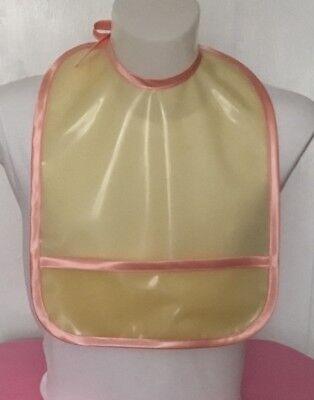 Adult baby bib, adult latex bib, rubber bib, adult rubber bib 2