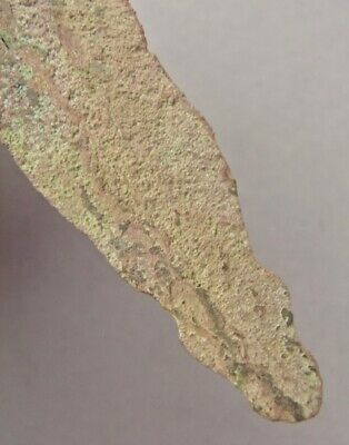 OLD COPPER CULTURE Large NOTCHED SPEAR POINT Vilas Wisconsin Gogebic Michigan 35 6