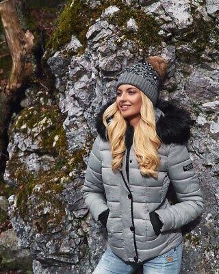 MARIKOO UNIQUE DAMEN winter Jacke winterMantel Steppjacke