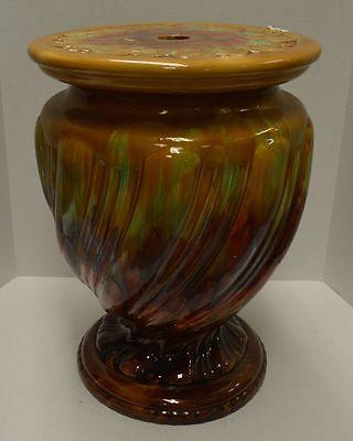 Antique Minton Majolica Pottery Jardiniere Stand 1896 4