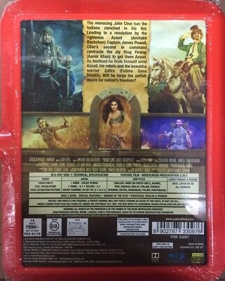 Thugs Of Hindostan Blu-Ray 2018 Bollywood Movie 2-Disc Special Edition Bluray 2
