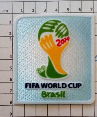 Coupe du Monde 2014 Brésil Patch Badge FIFA + Football for Hope Allemagne France 2