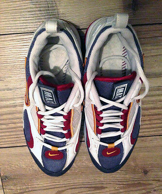 quality design b653d 65ee5 ... Nike Air Max Triax 1997 (womens) white grey red gold -