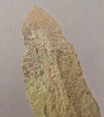 OLD COPPER CULTURE Large NOTCHED SPEAR POINT Vilas Wisconsin Gogebic Michigan 35 4