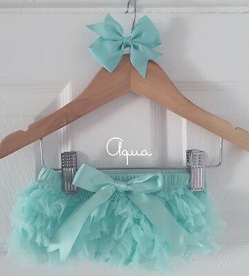 Deluxe Girls Baby Frilly Tutu Knickers Cake Smash Photoshoot 1st Birthday Outfit 5