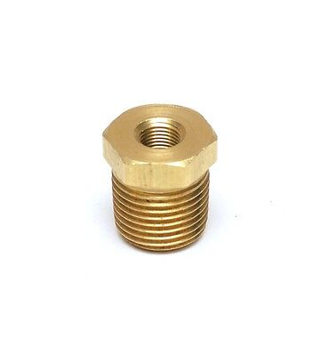 Brass Reducer 18 Nptf To 12 Npt M Reducer Bushing Adapter