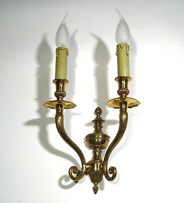 Vintage Brass French Sconce 2