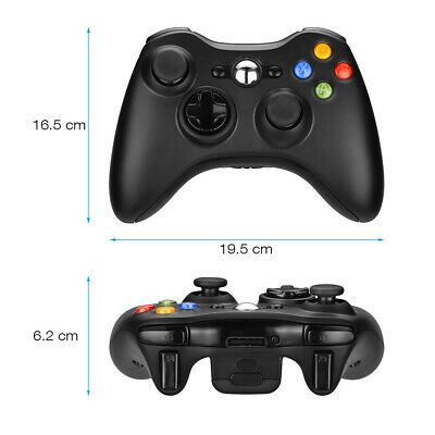 Wired / Wireless Game Controller Gamepad for Microsoft XBOX 360 & PC WIN 7 8 10 7