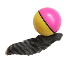 newcomdigi dtop Chien Chat Weasel motorisé drôle Rolling Ball Pet Toy Moving 2