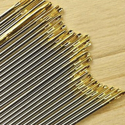 30*Assorted Hand Sewing Needles Embroidery Mending Cools Crafts Quilt Sew Tool 6