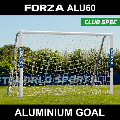 14901d3e0 Football 3mm Heavy Duty Goal Net Net World Sports FORZA 12ft x 4ft  Replacement Football Goal Net