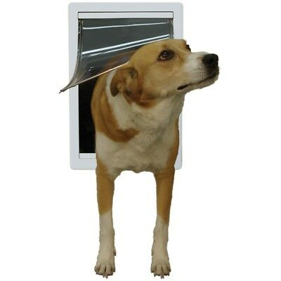 Ideal Pet Products 5-by-7-Inch Small Original Pet Door with Telescoping Frame