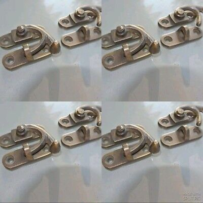 8 Nice medium small box Latch catch solid brass furniture 40 mm doors trinket B 8
