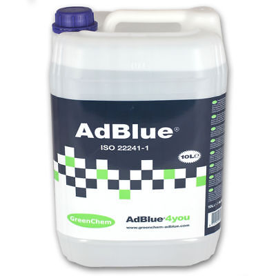 Greenchem AdBlue 10 Litre 10L Free Postage Ad Blue with Free Pouring Spout 5