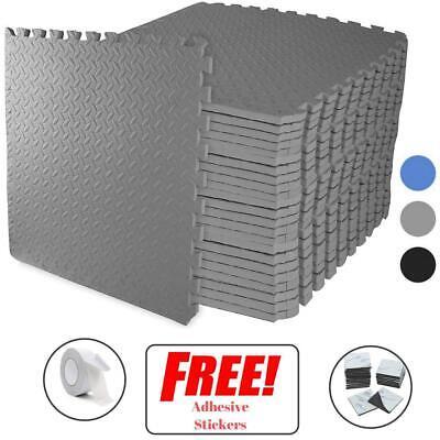 Gym Flooring Mats | Interlocking Puzzle Exercise Mat | Protective EVA Foam Tiles 4