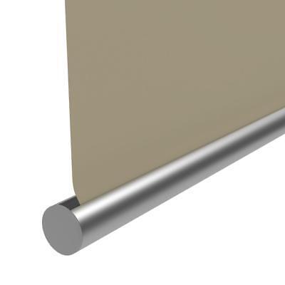 Seitenzug-Rollo 50x175cm Creme OHNE BOHREN Verdunklungs Fenster Klemm Easy Fix